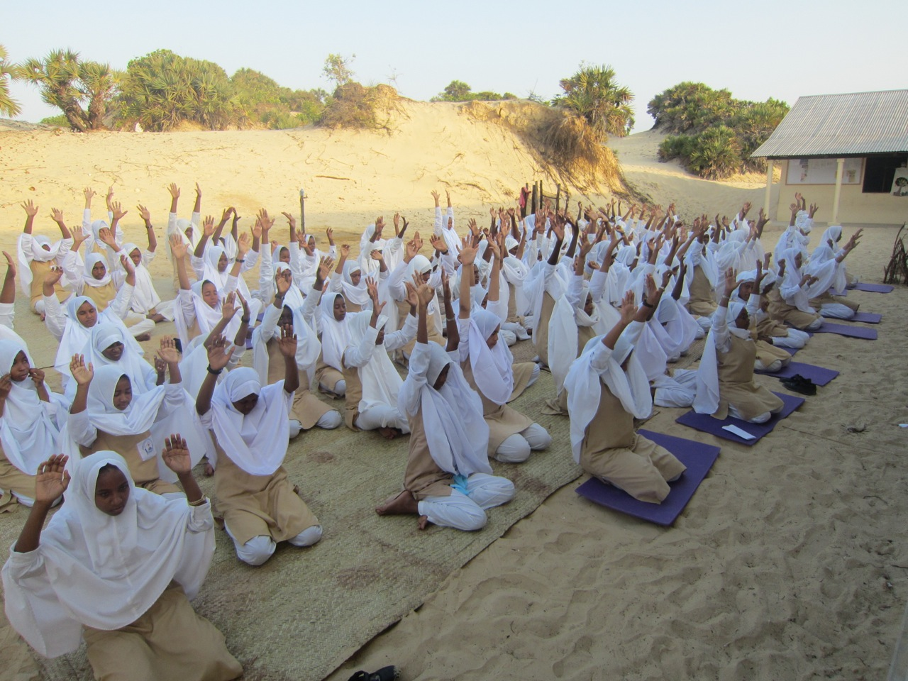 Lamu Yoga Festival supports Shela Bright Girls secondary school