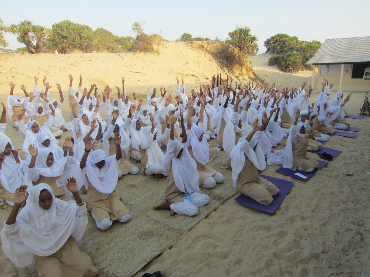 Lamu Yoga Festival supports Shela Bright Girls secondary school